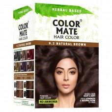 9.2 Natural Brown Powder (12 Sachets)
