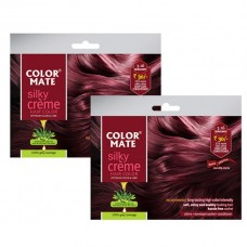 Burgundy Silky Creme (Pack of 2) HSN CODE - 3305